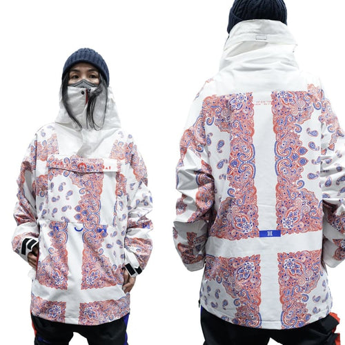 Jackets / Snow: MARQLEEN NTR JACKET-WHITEBANDANA - MARQLEEN ULTIMARA / S / WhtieBandana / 2021, Clothing, Ice & Snow, Jackets, Jackets /