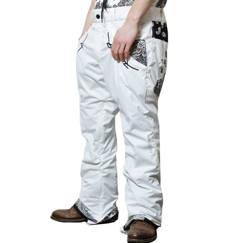 Pants / Snow: [ PRE-ORDER ] MARQLEEN PLATINUM PANTS (Japanese Brand) ML9501-003 [Unisex] - MARQLEEN ULTIMARA / M / Ultm White / 1920