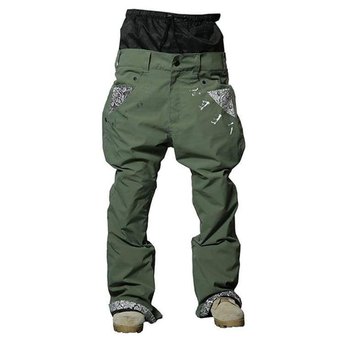 Pants / Snow: Marqleen Platinum Pants - Khaki Stretch (Japanese Brand) Ml8501-862 - Marqleen Ultimara / M / Khaki Stretch / 1819 Clothing