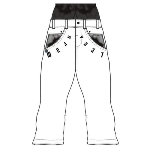Pants / Snow: Marqleen Platinum Pants - White Late (Japanese Brand) Ml8501-004 - Marqleen Ultimara / Xs / White Late / 1819 Clothing Ice &