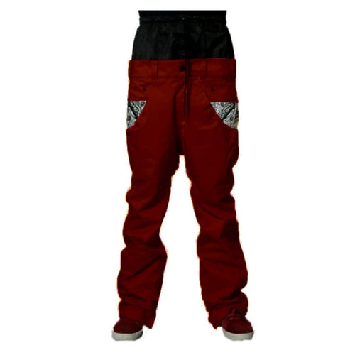 Pants / Snow: Marqleen Platium Pants - Burgundy (Japanese Brand) Ml8501-160 - Marqleen Ultimara / L / Burgundy / 1819 Burgundy Clothing Ice