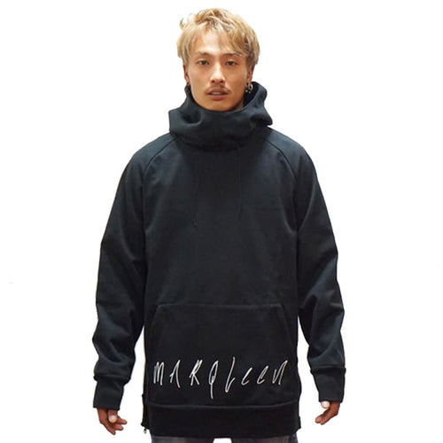 Hoodies & Sweaters: Marqleen Sweat + Parker - Black (Japanese Brand) Ml8009-990 - Marqleen Ultimara / Black / S / 1819 Black Clothing