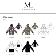 Jackets / Snow: [ PRE-ORDER ] MARQLEEN ZERO JACKET (Japanese Brand) ML9011-777 [Unisex] - 1920 Clothing Ice & Snow Jackets Jackets / Snow |