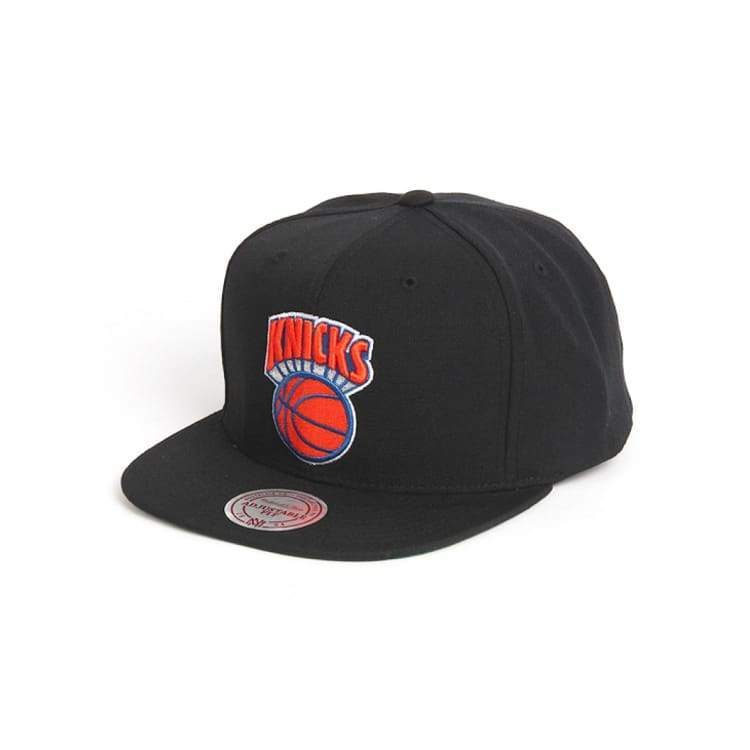 Headwear / Caps: Mitchell & Ness Snapback Cap - Nba Basic Logo Tsc Knicks - Mitchell & Ness / Accessories Basketball Caps Head & Neck Wear