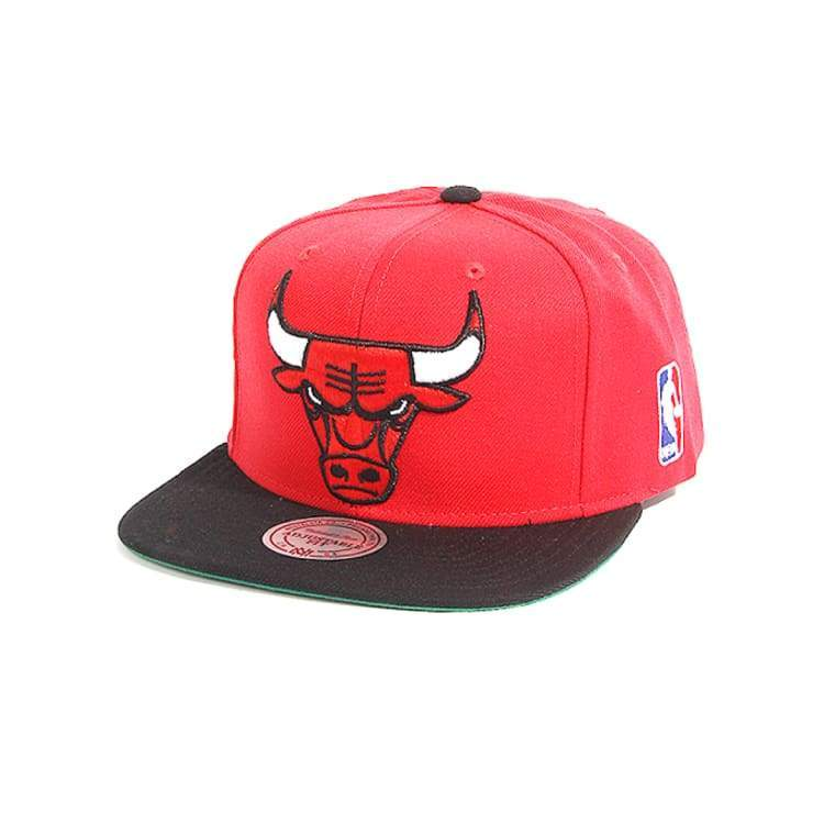 Headwear / Caps: Mitchell & Ness Snapback Cap - Nba Nm04Z Mtc Bulls - Mitchell & Ness / Accessories Basketball Caps Chicago Bulls Head &