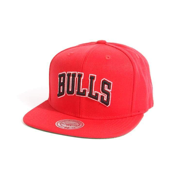 Headwear / Caps: Mitchell & Ness Snapback Cap - Nba Nt78Z Bulls Red - Mitchell & Ness / Accessories Basketball Caps Chicago Bulls Head &