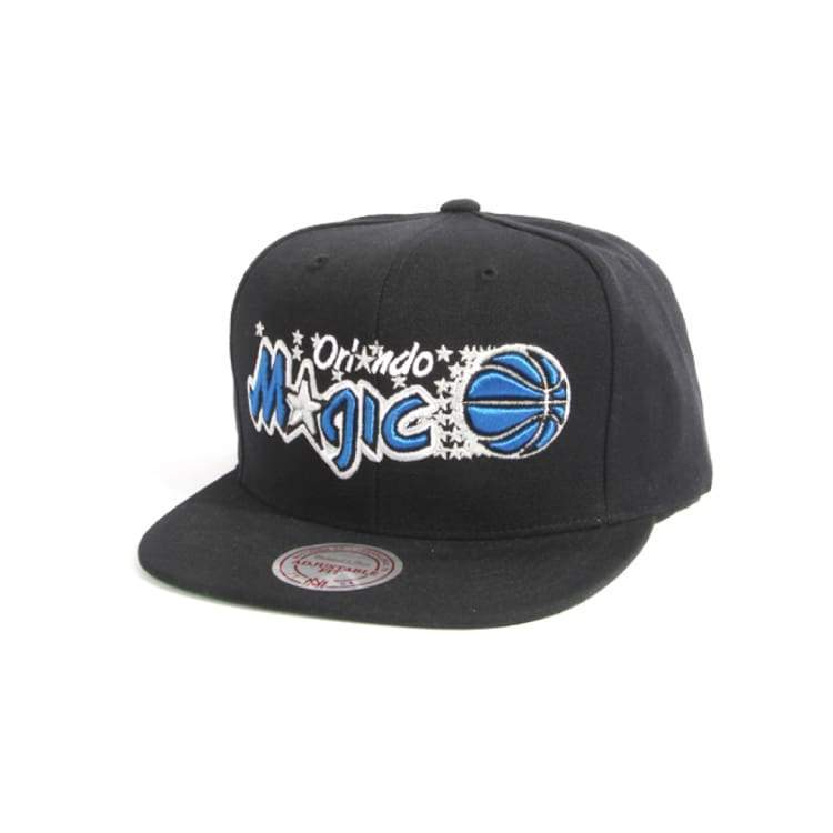 Headwear / Caps: Mitchell & Ness Snapback Cap - Nba Nz979 Tsc Magic Black - Mitchell & Ness / Accessories Basketball Caps Head & Neck Wear