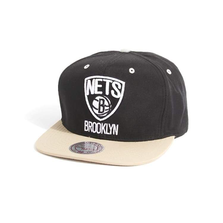 Headwear / Caps: Mitchell & Ness Snapback Cap - Nba Ve51Z Strap Nets - Mitchell & Ness / Accessories Basketball Brooklyn Nets Caps Head &