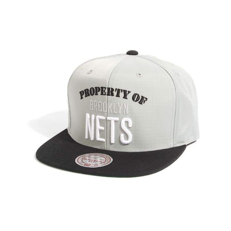 Headwear / Caps: Mitchell & Ness Snapback Cap - Nba Ve72Z Nets - Mitchell & Ness / Accessories Basketball Brooklyn Nets Caps Head & Neck