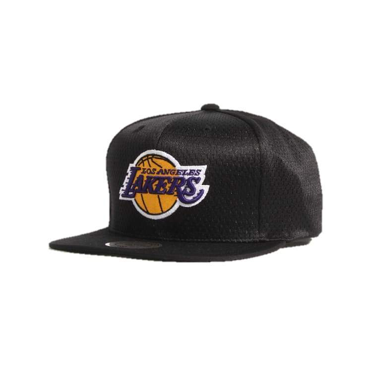 Headwear / Caps: Mitchell & Ness Snapback Cap - Nba Vq48Z Jersey Mesh Lakers - Mitchell & Ness / Accessories Basketball Caps Head & Neck