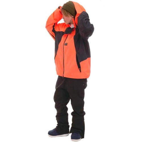 Jackets / Snow: [ PRE-ORDER ] MRS HARUMAKI SNOW JACKET (Japanese Brand) Blazing Orange [Unisex] - Mountain Rock Star / M / Blazing Orange /