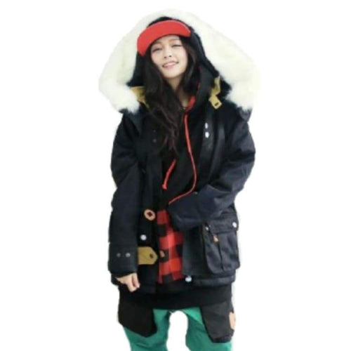 Jackets / Snow: Napping Brise4 Jacket Black 1617 - 1617 Black Clothing Ice & Snow Jackets