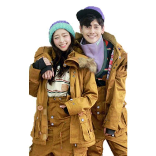 Jackets / Snow: Napping Brise4 Jacket Camel 1617 - 1617 Camel Clothing Ice & Snow Jackets