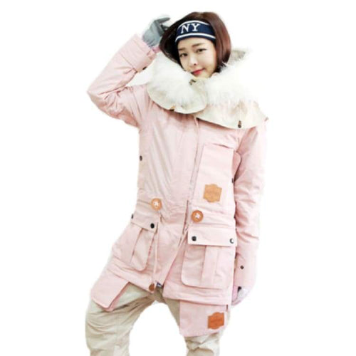 Jackets / Snow: Napping Challengr Jacket B.pink/whitefur 1718 - M / B.pink/whitefur / Napping / 1718 B.pink/whitefur Clothing Ice & Snow
