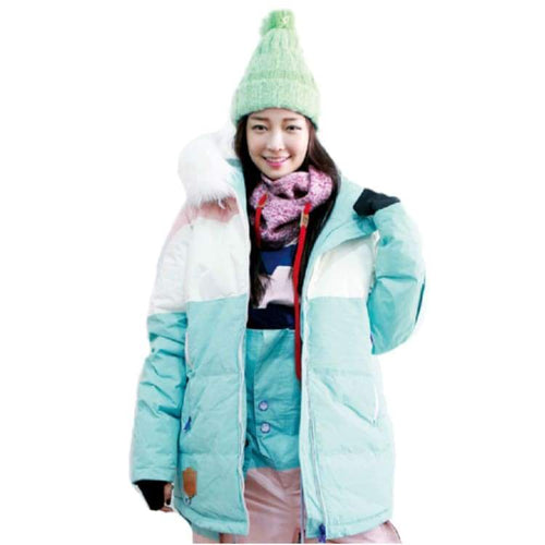 Jackets / Snow: Napping Jeoyeuse Jacket Sky/whitefur 1718 - 1718 Clothing Ice & Snow Jackets Jackets / Snow