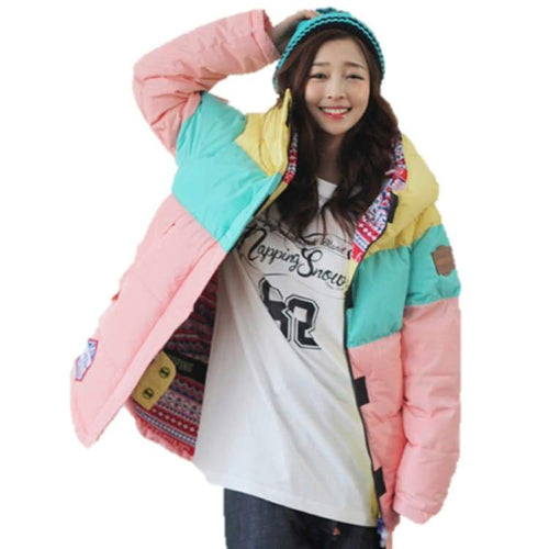 Jackets / Snow: Napping La Vie Joyeuse Jacket B.pink 1617 - M / B.pink / Napping / 1617 B.pink Clothing Ice & Snow Jackets |