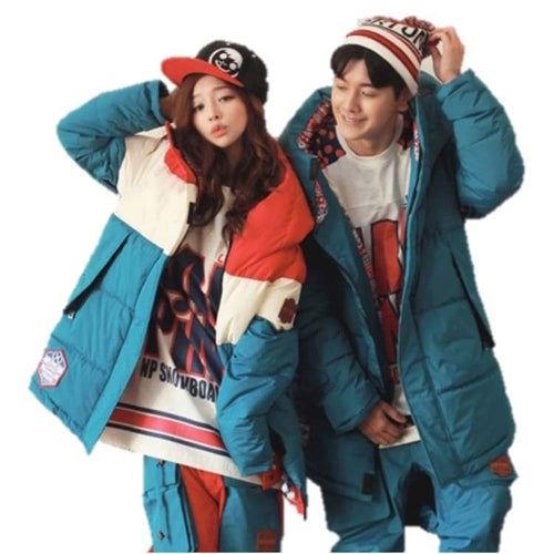 Jackets / Snow: Napping La Vie Joyeuse Jacket Blue 1617 - Napping / L / Blue / 1617 Blue Clothing Ice & Snow Jackets |