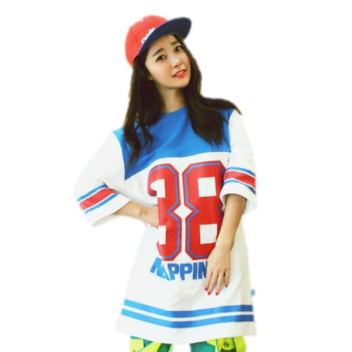 Tees / Short Sleeve: Napping Lucky88 Khaki 1415 - Napping / L / White / 1415 Clothing Ice & Snow Napping On Sale | Occn-Whiteline-Lucky88