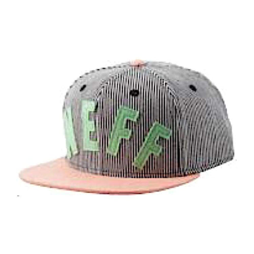 Headwear / Caps: Neff Arc Snapbackï¼Brother Iiï¼- Stripe - Neff / Free / Stripe / 2015 Accessories Cap Head & Neck Wear Headwear / Caps