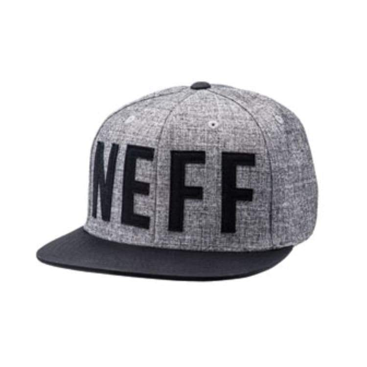 Headwear / Caps: Neff Brother Cap - Grey/black - Neff / Free / Grey/black / 2016 Accessories Cap Grey/black Head & Neck Wear |