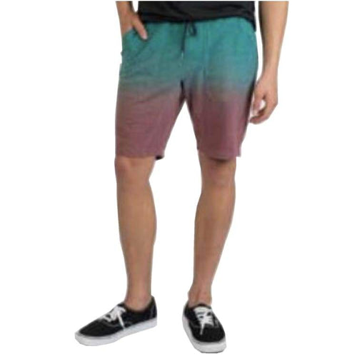 Shorts / Casual: Neff Bunker Sweat Shorts - Ombre - Neff / M / Ombre / 2018 Board Shorts Clothing Land Mens | Occn-Whiteline-18P53001Ombrem