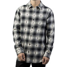 Shirts Ls / Casual: Neff Cartel Flannel Fw1718 - Beatnick - Bone - Neff / Bone / L / 1718 Bone Clothing Land Mens | Occn-Whiteline-17F47003