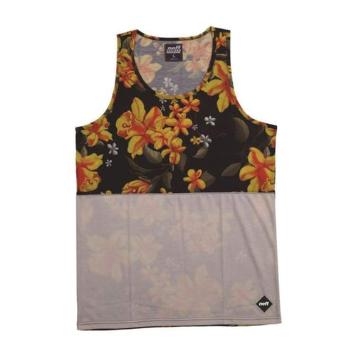 Tanks: Neff Commando Tank - White - Neff / Multi / M / 2014 Clothing Land Mens Multi | Occn-Whiteline-Ss14201White