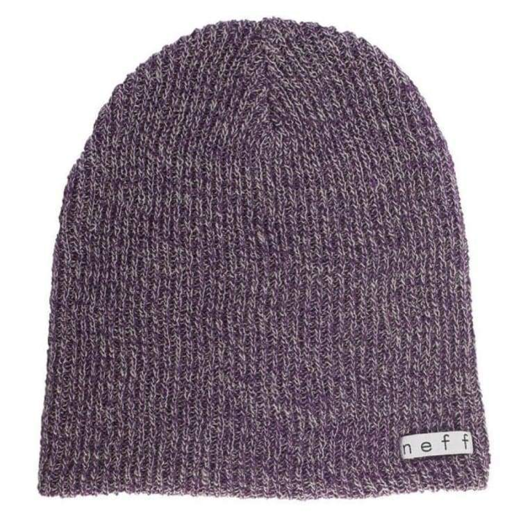 4c9580b5fe6a0d Headwear / Beanies: Neff Daily Heather Beanie Ho16 - Purple/grey - Neff /