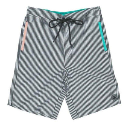 Shorts / Board: Neff Daily Pool Shorts - Stripe - Neff / M / Stripe / 2015 Board Shorts Clothing Mens Neff |