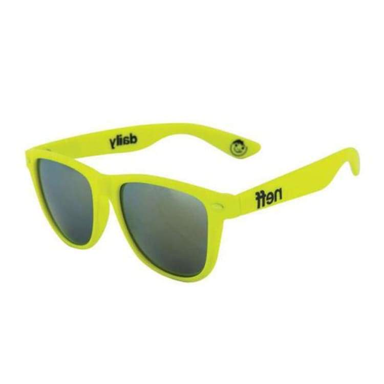 Sunglasses: Neff Daily Shades Sunglasses Fw1718 - Tennis Rubber - Neff / Tennis Rubber / 1718 2018 Wakefest Accessories Eyewear Ice & Snow |
