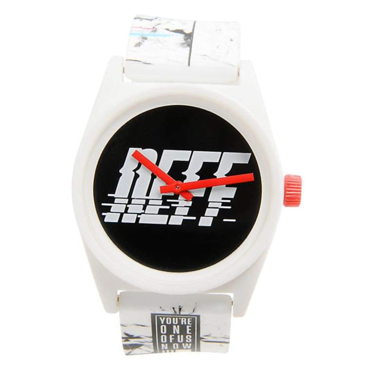 Watches / Casual: Neff Daily Wild Watch Ho15 - Sport Tech White - Neff / Sport Tech Black / 2015 Accessories Land Mens Neff |