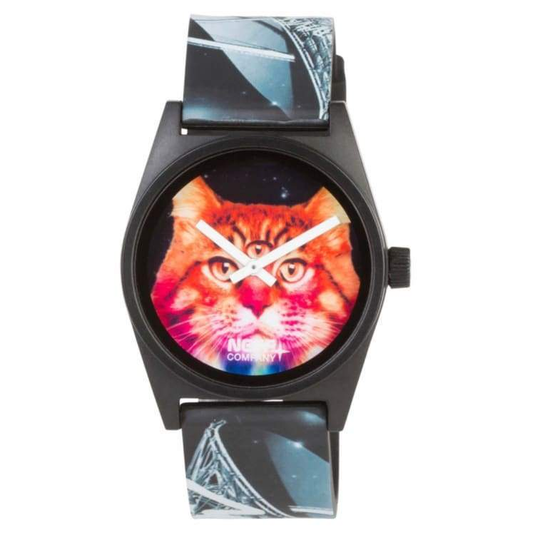 Watches / Casual: Neff Daily Wild Watch - Meow - Neff / Meow / 2016 Accessories Land Mens Meow | Occn-Whiteline-Nf0208Meowf