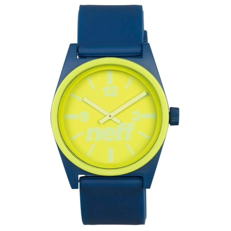 Watches / Casual: Neff Duo Watch Sp16 - Blue/green - Neff / Blue/green / 2016 Accessories Blue/green Land Mens | Occn-Whiteline-Nf0217