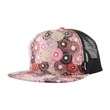 Headwear / Caps: Neff Hawk Trucker - Donuts - 1516 Cap Donuts Head & Neck Wear Headwear / Caps