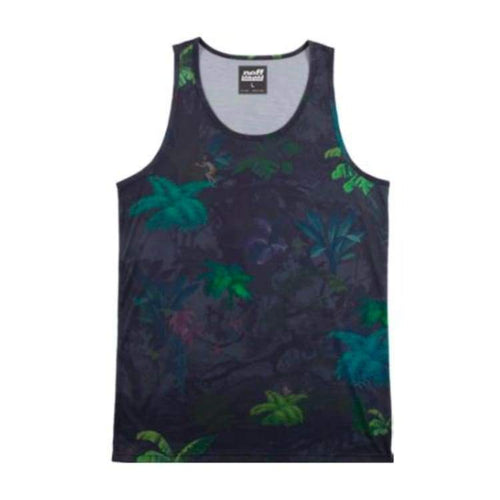 Tanks: Neff Jungle Book Tank - Green - Neff / Multi / M / 2014 Clothing Land Mens Multi | Occn-Whiteline-Ss14216Greenm