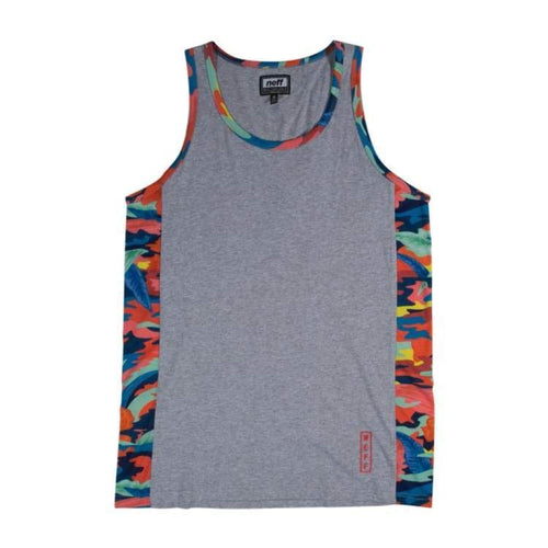 Tanks: Neff Kirk Tank - Athletic Heather - Neff / Athletic Heather / Xl / 2016 Athletic Heather Clothing Land Mens | Occn-Whiteline-16P32001