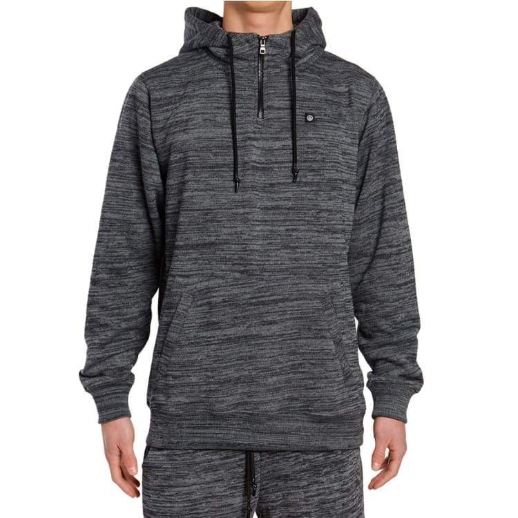 Hoodies & Sweaters: Neff Laxed Hoodie Sp17 - Black Heather - Neff / L / Black Heather / 2017 Black Heather Clothing Hoodies & Sweaters Ice &