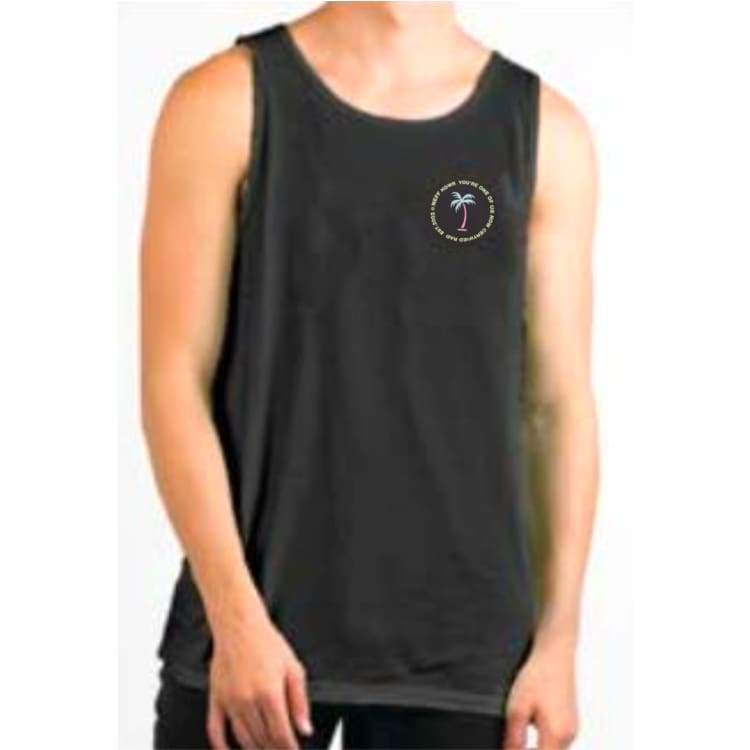Tanks: Neff Logo Lock Tank - Black - Neff / Black / M / 2018 Black Clothing Land Mens | Occn-Whiteline-18P32001Blackm
