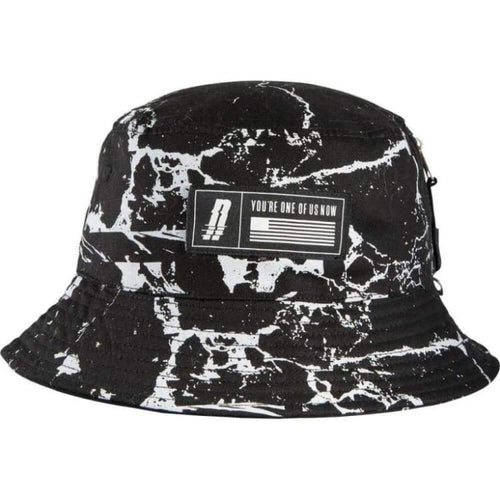 Headwear / Hats: Neff Marbled Bucket - Neff / F / Black / 2015 Accessories Black Hat Hats | Occn-Whiteline-15H00013 Blackf