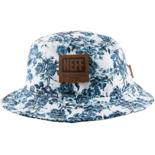 Headwear / Hats: Neff Prime Bucket - Neff / F / White / Accessories Hat Hats Head & Neck Wear Headwear | Occn-Whiteline-15F00032Whitef