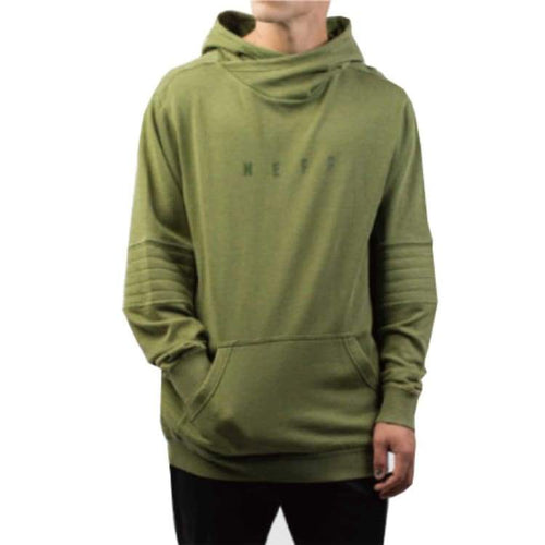 Hoodies & Sweaters: Neff Quil Hoodie Fw1718 - Olive - Neff / L / Olive / 1718 Clothing Hoodies & Sweaters Ice & Snow Land |