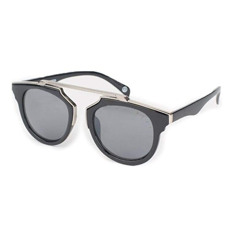 Sunglasses: Neff Riviera Shades Sunglasses Sp18 - Black/silver - Neff / Black/silver / 2018 Accessories Black/silver Eyewear Ice & Snow |
