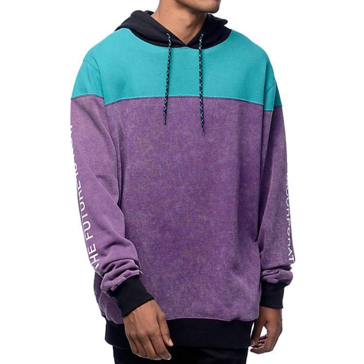 Hoodies & Sweaters: Neff Spacetime Hoodie Ho16 - Purple - Neff / L / Purple / 2016 Clothing Hoodies & Sweaters Ice & Snow Land |
