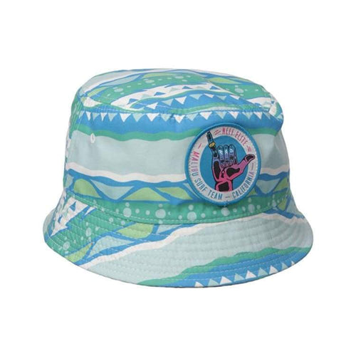 Headwear / Hats: Neff Summer Haze Bucket - Blue - Neff / F / Blue / 2016 2018 Wakefest Accessories Blue Hat | Occn-Whiteline-16P00021 Bluef