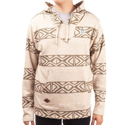Hoodies & Sweaters: Neff Up North Poncho Ho15 - Brown - Neff / M / Brown / 2015 Brown Clothing Hoodies & Sweaters Ice & Snow |