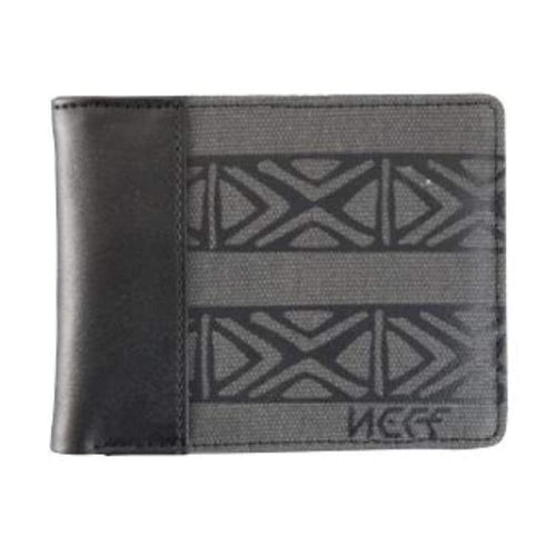 Wallets/ Bi-Fold: Neff Up North Wallet - Charcoal - Neff / Charcoal / 2015 Accessories Charcoal Ice & Snow Neff | Occn-Whiteline-15H16003