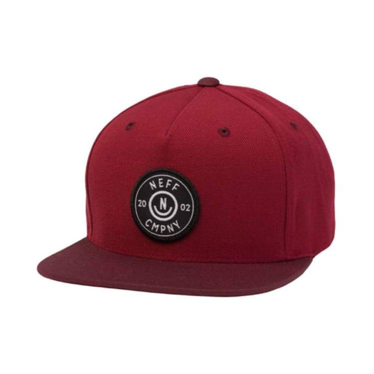 Headwear / Caps: Neff Wade Cap - Burgundy/maroon - Neff / Free / Burgundy/maroon / 2016 Accessories Burgundy/maroon Cap Head & Neck Wear |
