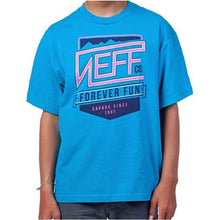 Tees / Short Sleeve: Neff Youth Savage Tee - Turquoise - 2016 Clothing Kids Land Neff