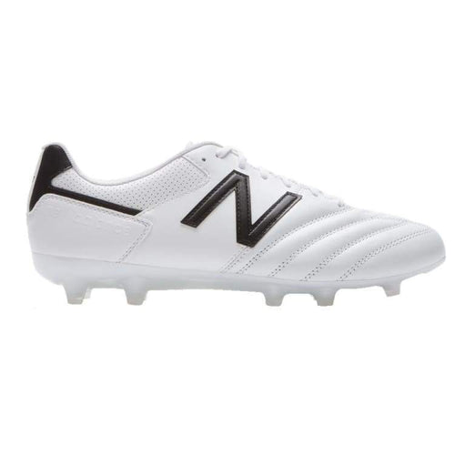 Cleats / Soccer: New Balance 442 Team Fg White Mscffwb1 - New Balance / Uk: 7.0 / White / Cleats / Soccer Football Footwear Land Mens |