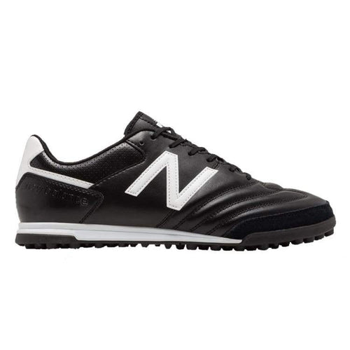 Shoes / Soccer: New Balance 442 Team Tf Black Mscftbw1 - New Balance / Uk: 7.0 / Black / Black Football Footwear Land Mens |